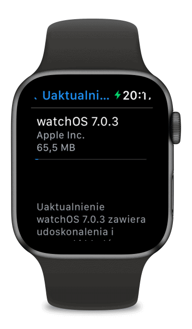 watchOS 7.0.3 dla Apple Watch Series 3